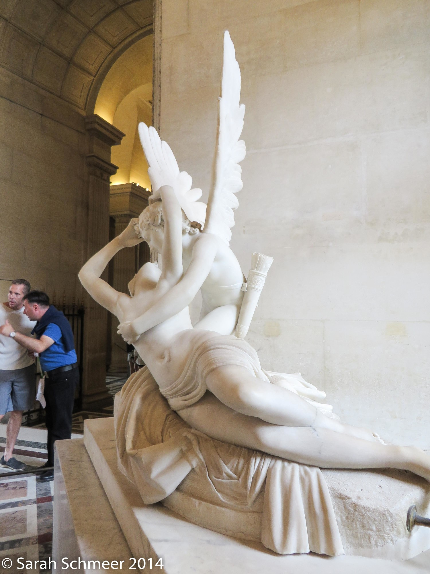 """Psyche Revived by Cupid's Kiss"""