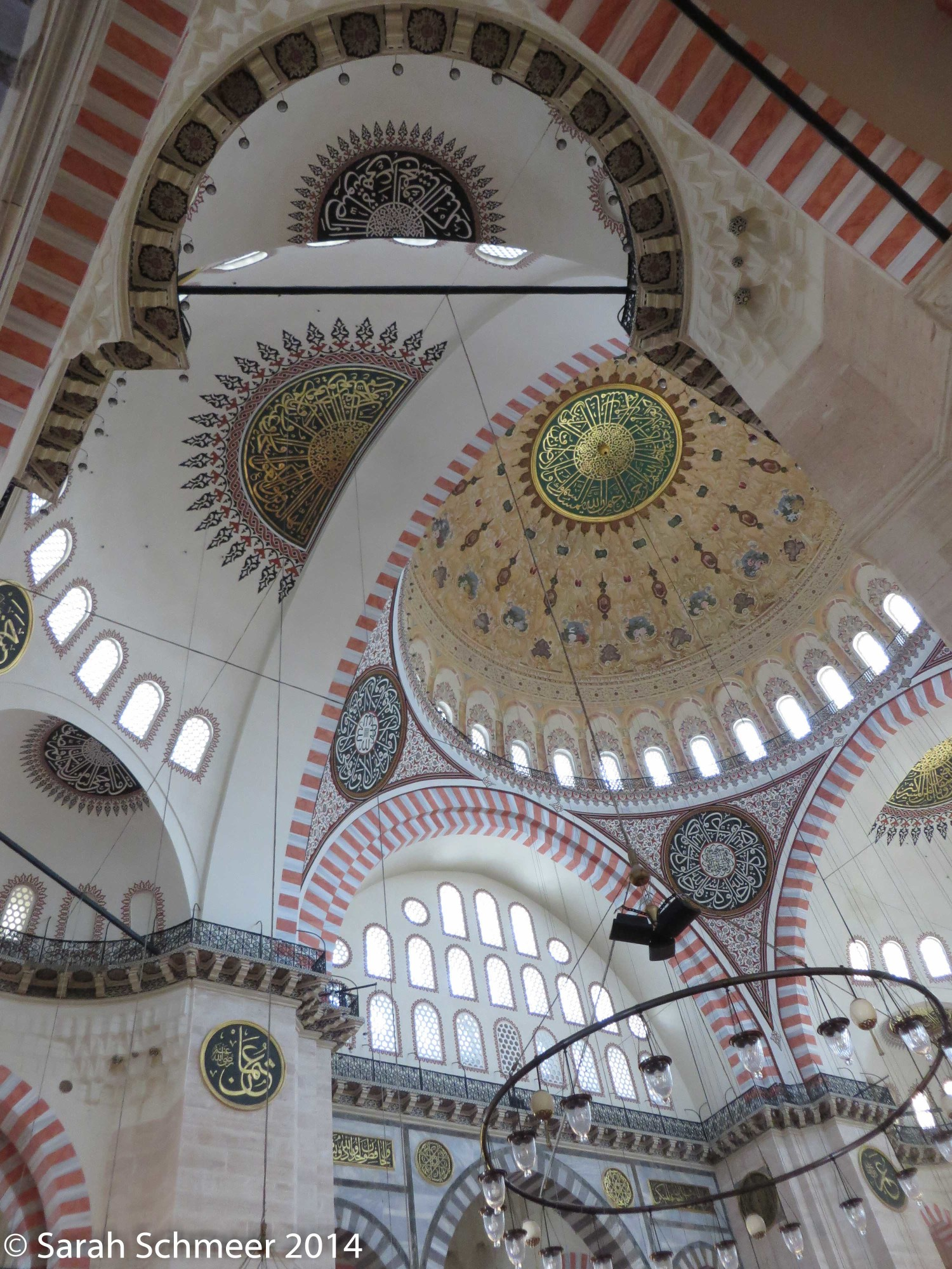 Ceiling of the Suleymaniye Mosque