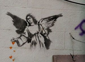 """Angel Sprinkling Hearts"" in Bethlehem (photo credit: Pintrest)."