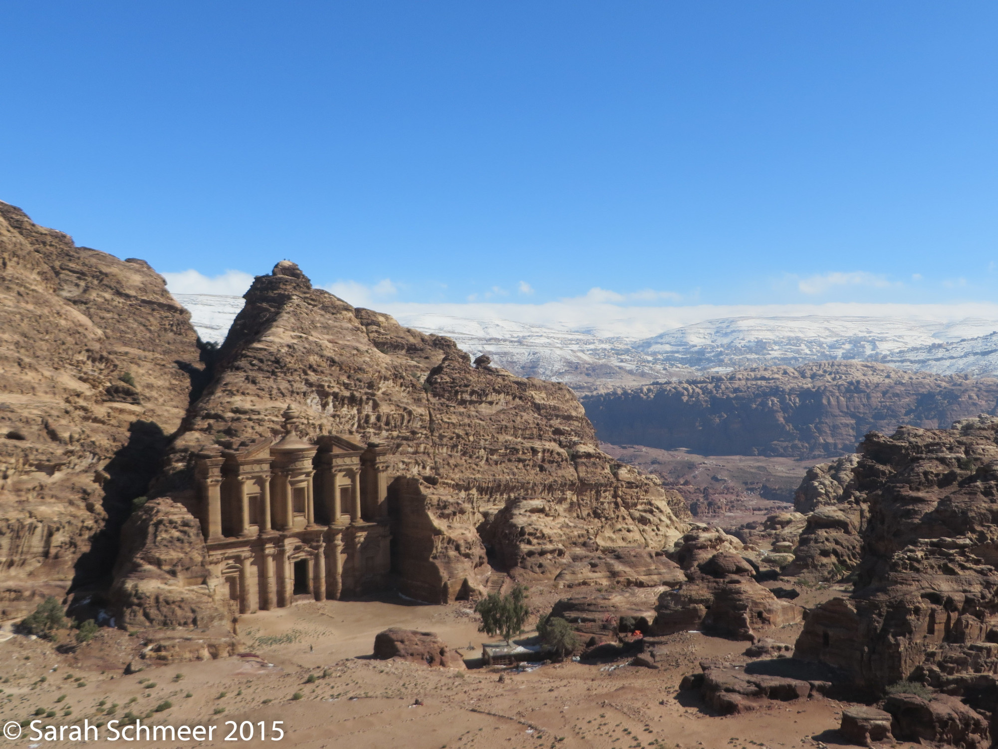 The Monastery at Petra, one of the more remarkable sites you have to hike to.